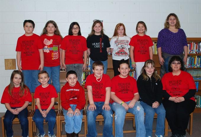 Elementary Academic Team 2010-2011