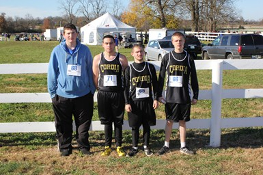 Senior Boys Cross Country Runners